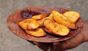 West African Fried Plantain / Dodo | Vegetarian Side Dish