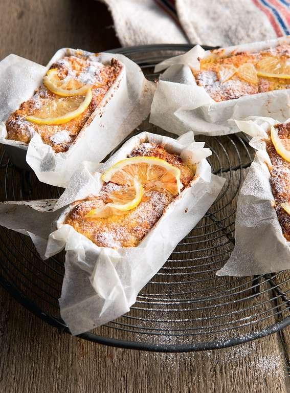 Ricotta, Lemon, Polenta Teacakes