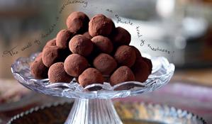 P'Tite Mere's Chocolate Chestnut Truffles