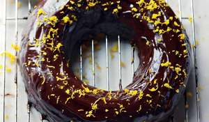 Aztec Chocolate Orange Cake Recipe