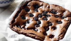Joe's Blackberry Brownies