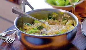 Dolcelatte and Leek Risotto