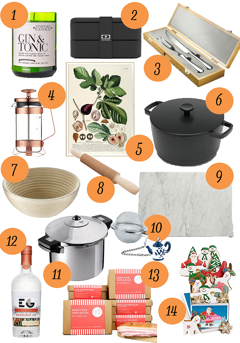 Gift Guide for Foodies 2016