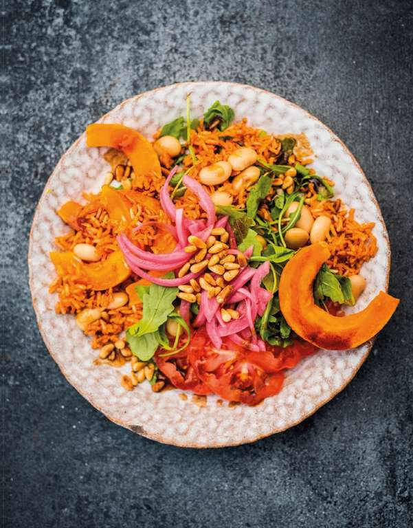 Pumpkin and Red Rice Salad