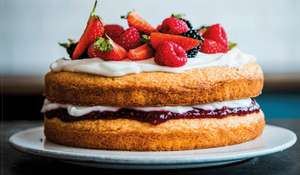 Victoria Sponge Cake | Vegan Baking Recipe