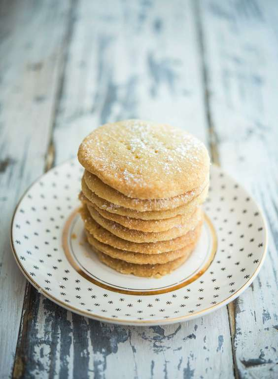 Three-ingredient Shortbread Rounds