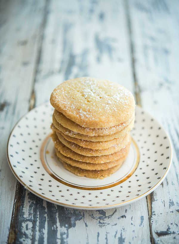 easiest ever biscuit recipes three ingredient shortbread biscuits