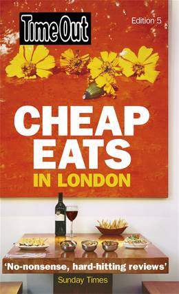 Cover of Time Out Cheap Eats in London