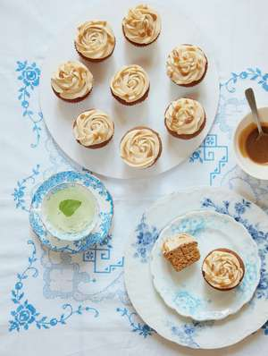 Mary Berry's Toffee Cupcakes