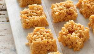 Toffee Marshmallow Squares