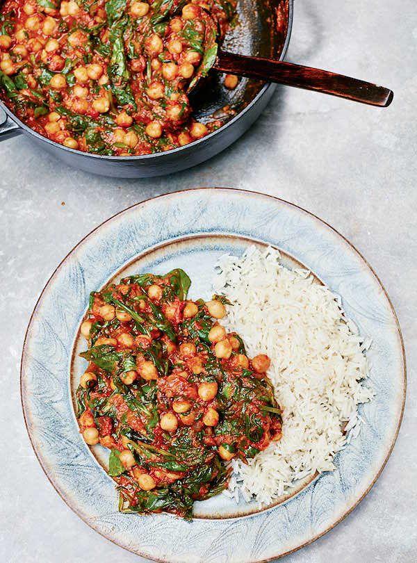 meera sodha vegan chickpea curry recipe