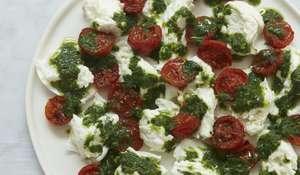 Tomatoes, Mozzarella and Basil, My Way