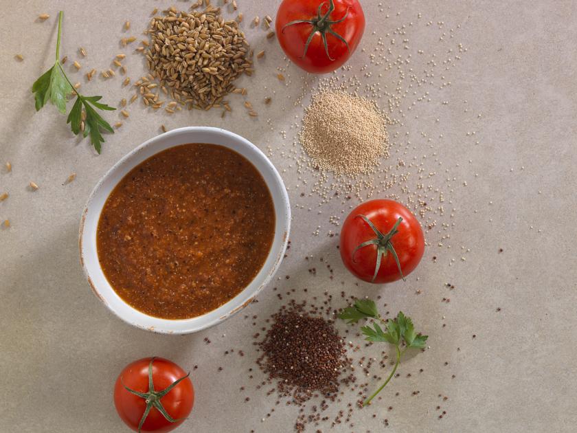 Easy Grain Store Cupboard Recipes | Ancient Grain Soup