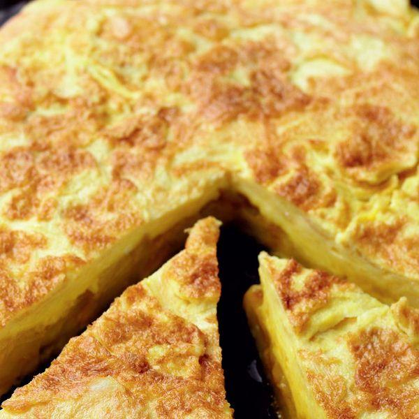 Potato Tortilla - The Happy Foodie