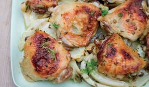 Chicken Traybake with Bitter Orange and Fennel Nigella Lawson Simply Nigella