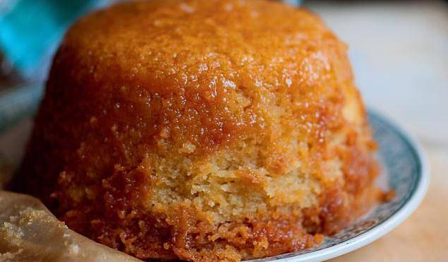Steamed Treacle Pudding The Happy Foodie
