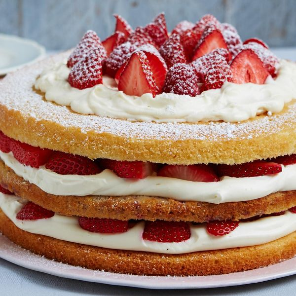 Triple Layer Berry Victoria Sponge