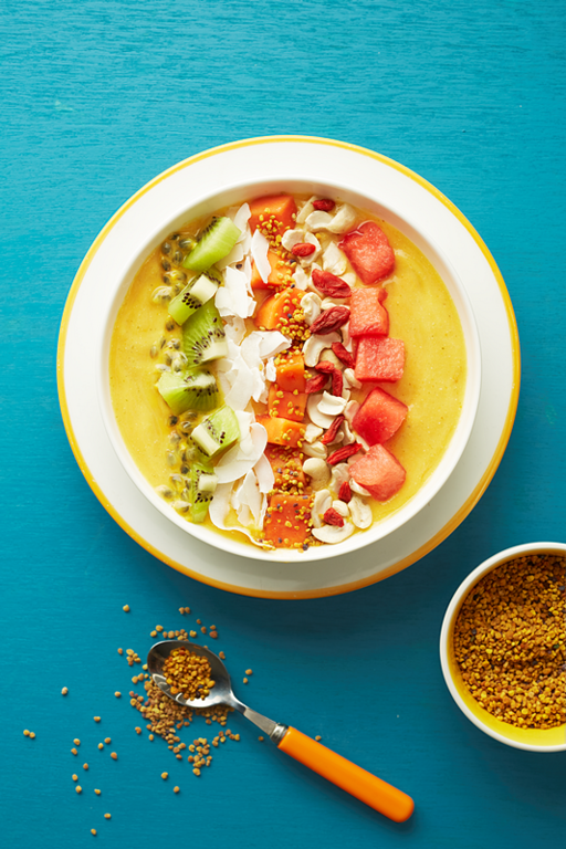 Tropical Fruit Smoothie Bowl