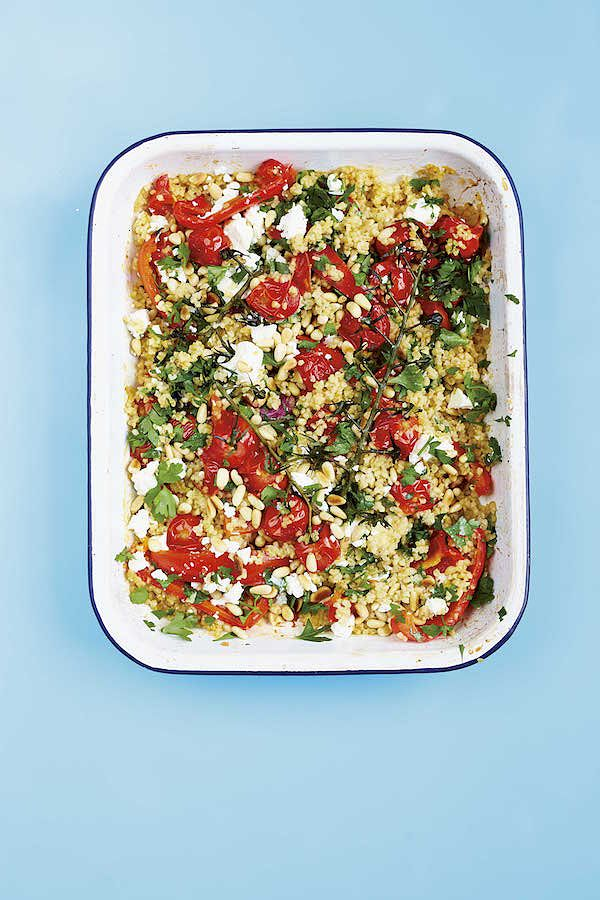 bulgar wheat veggie recipe