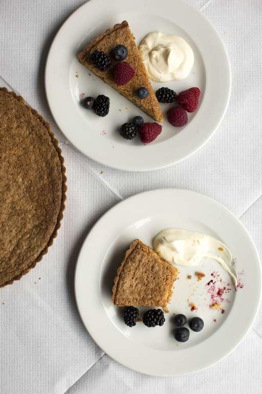 Summer Almond Tart