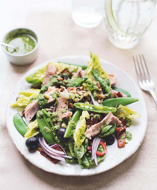 packed lunch recipes italian tuna salad amelia freer nourish and glow