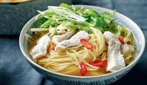 Fragrant Turkey Noodle Broth from Dean Edwards' Feelgood Family Food