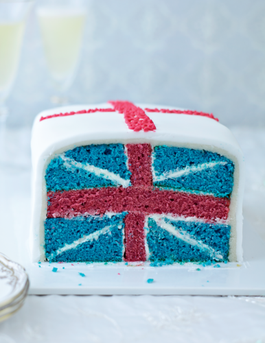 Jubilee Cake from The Great British Bake Off Showstoppers