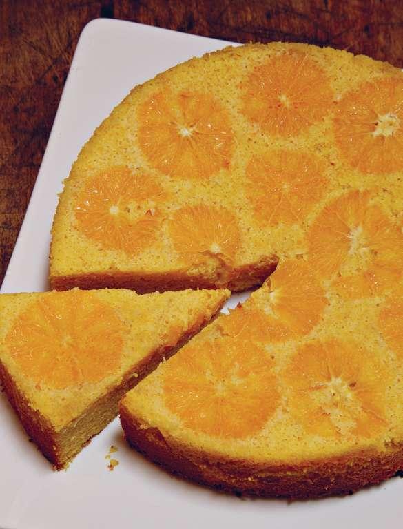 Orange Cake with Marsala Mascarpone (torta di arancia con mascarpone al marsala)