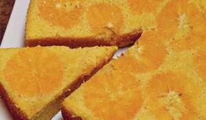 Orange Cake with Marsala Mascarpone (torta, di arancia Con mascarpone al marsala)