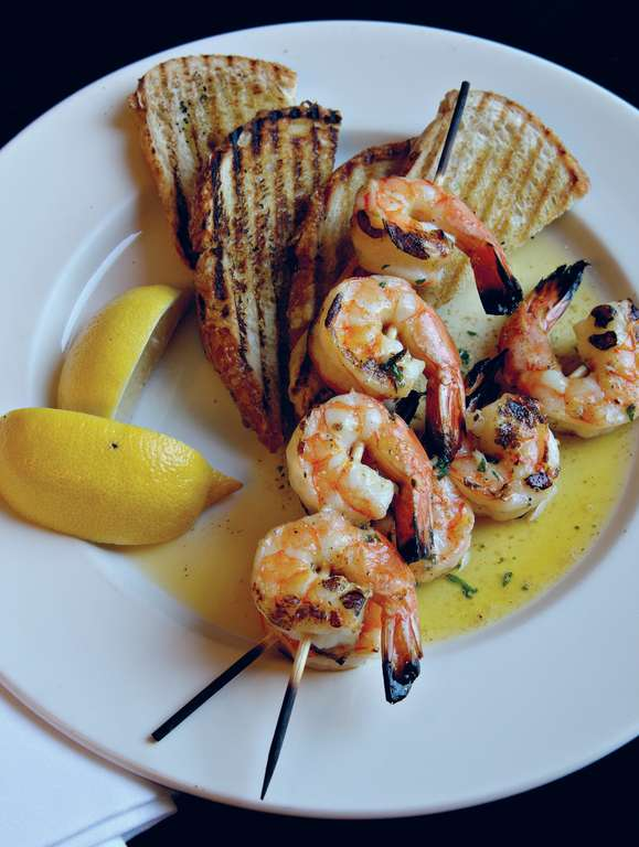 King Prawn Skewers (spiedini di gamberoni)