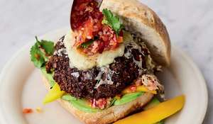 Jamie Oliver Black Bean Burgers Recipe | Meat-free Meals Channel 4