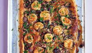 Goat's Cheese & Mushroom Tart | Easy Vegetarian Recipe