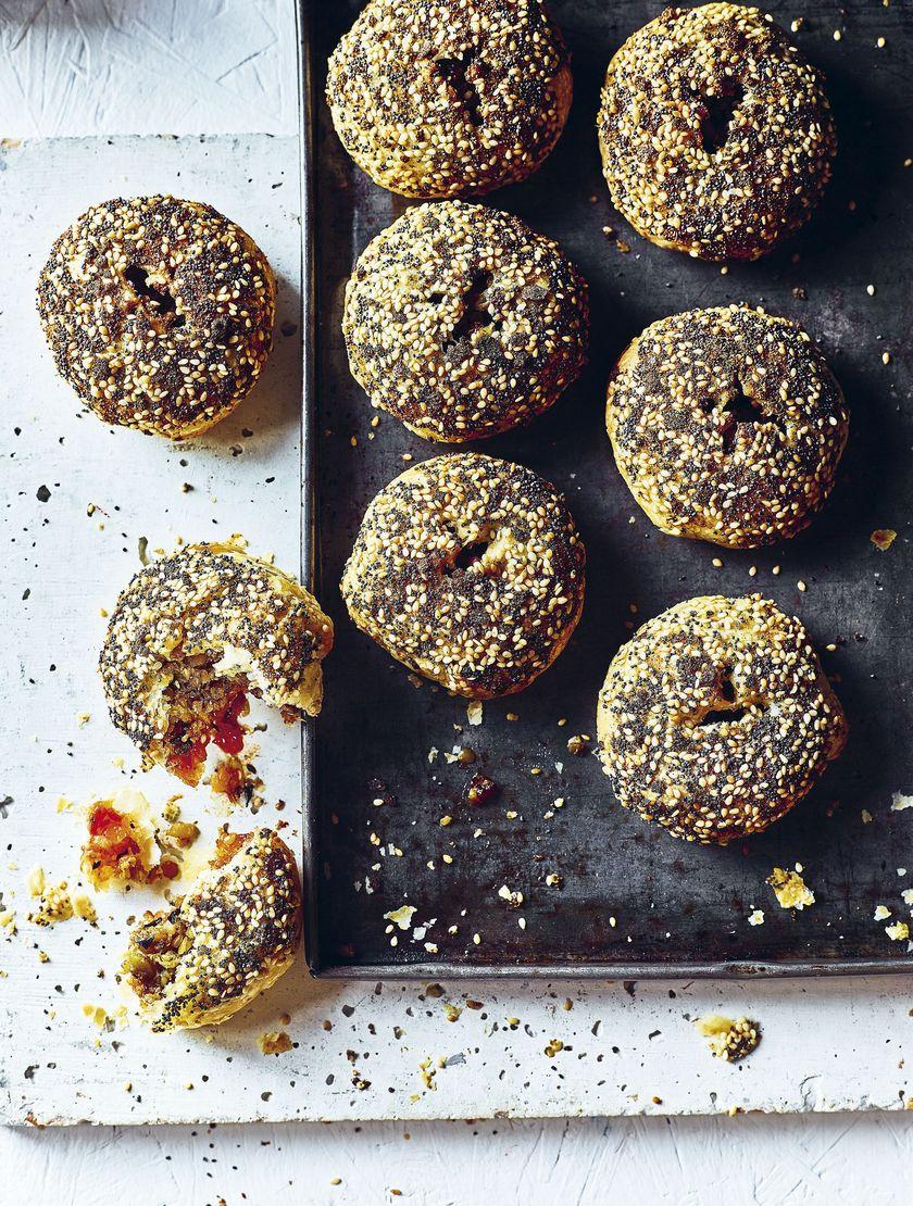 Vegan Snack Recipe Elly Pear Veggie Haggis Puffs