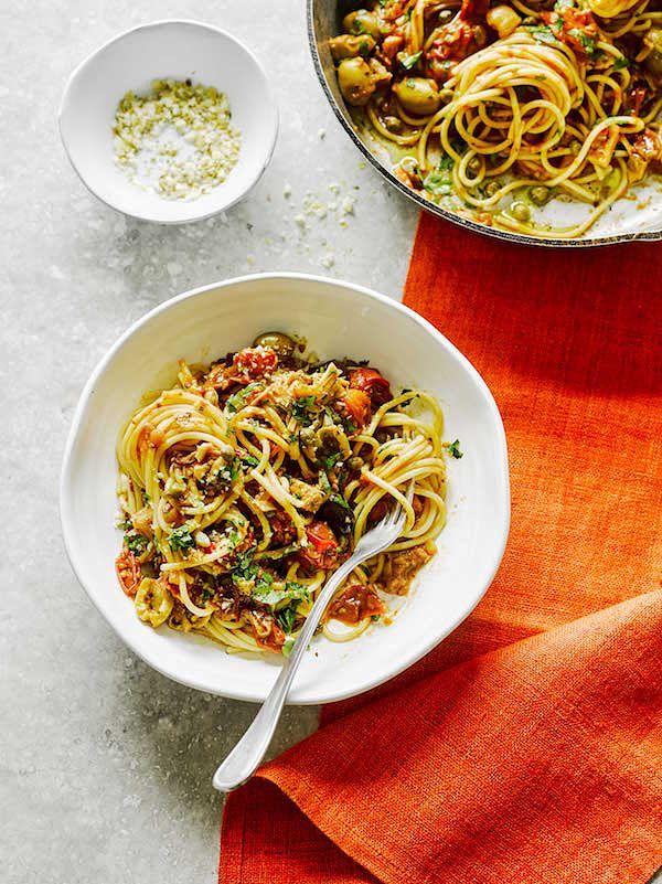 best vegetarian ingredients jackfruit vegan juna pasta rachel ama
