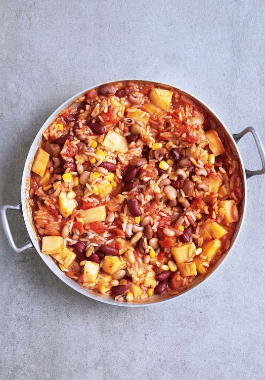 One-Pot Cajun Rice and Beans