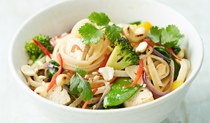 Veggie Noodle Stir-fry from Jamie Oliver's Food Revolution Collection