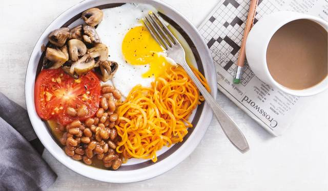 Vegetarian full english breakfast the happy foodie vegetarian full english breakfast forumfinder Choice Image