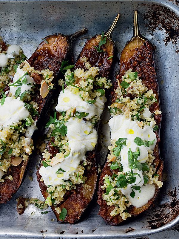 Roasted Aubergine Recipes (Eggplant) | Yotam Ottolenghi, Mary Berry