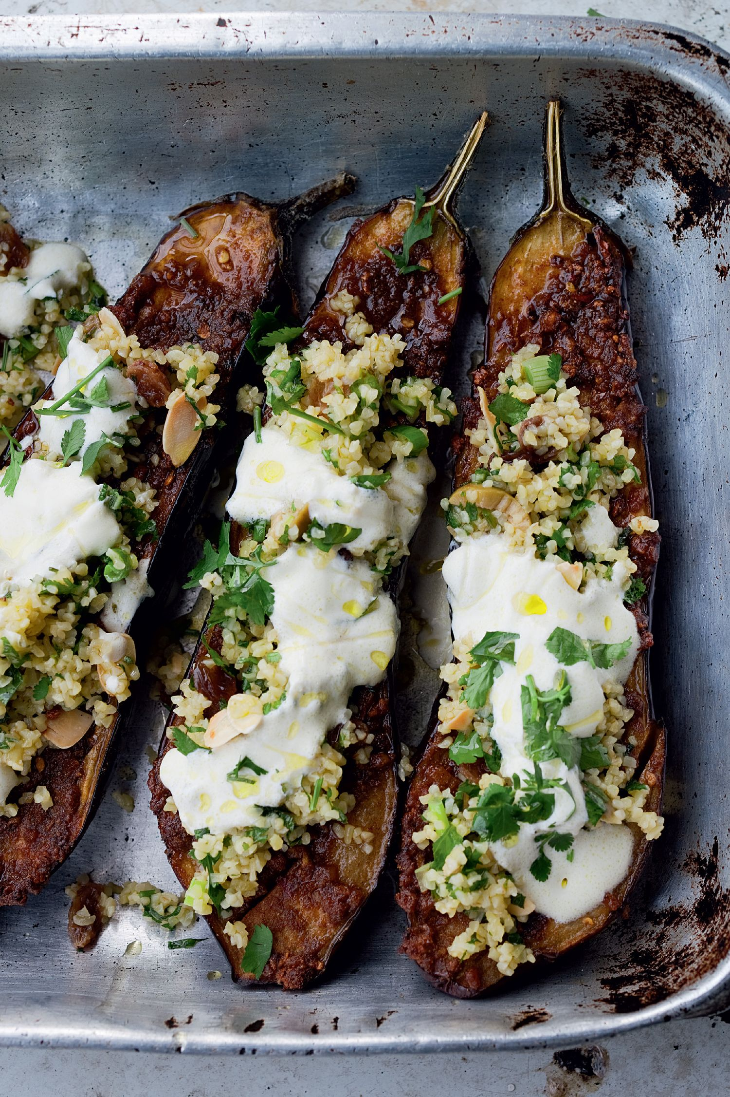 ottolenghi eggplant #8