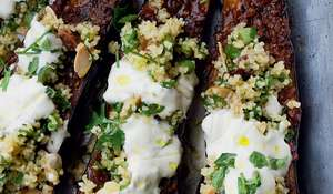 Ottolenghi Chermoula Aubergine | Middle Eastern Recipe