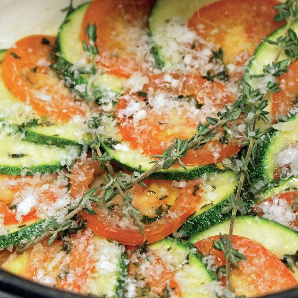 Oven Baked Courgettes The Happy Foodie