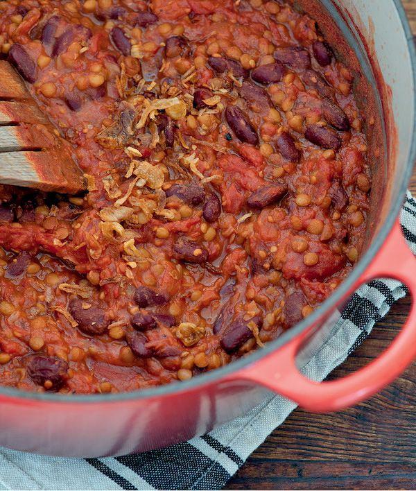 Easy Store Cupboard Recipes   Quick Vegetarian Chilli