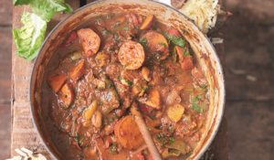 Jamie Oliver's Smoky Veggie Chilli from Super Food Family Classics