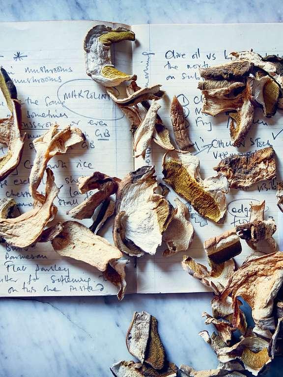Chestnut and Wild Mushroom Risotto