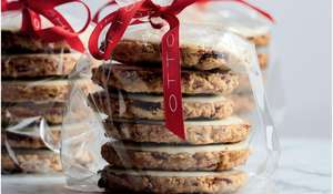 Ottolenghi Cranberry, Oat & White Chocolate Christmas Biscuit Recipe
