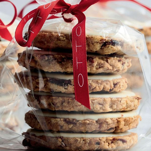 Cranberry Oat And White Chocolate Biscuits