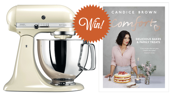 win a kitchenaid and a copy of comfort