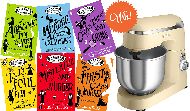 win swan stand mixer and murder most unladylike series