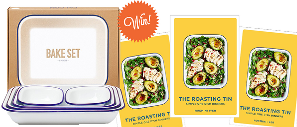 win a falcon bake set and a copy of the roasting tin