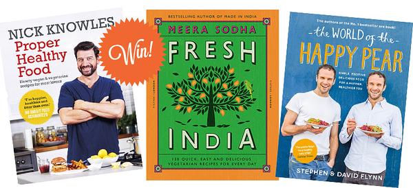 win vegetarian cookbooks